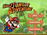 Super Mario Jungle Adventure