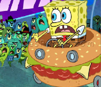 Spongebob: Delivery Dilemma