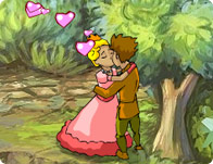 The Princess Kissing